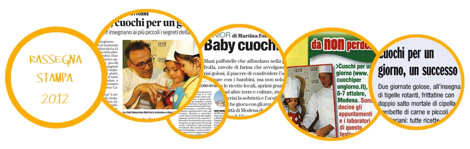 Rassegna Stampa Edizione 2012